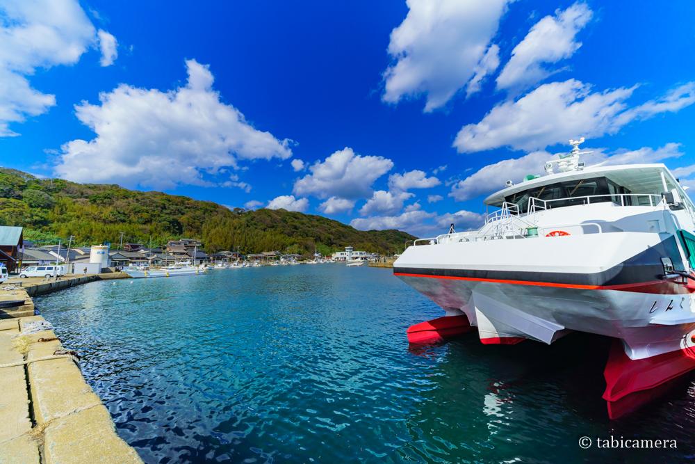 猫島 相島 港