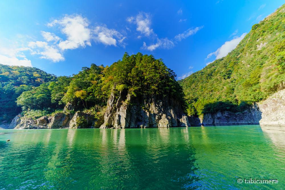 十津川村の瀞峡