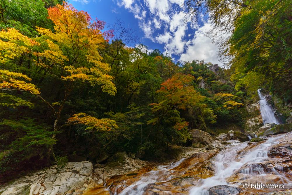 十津川の笹の滝