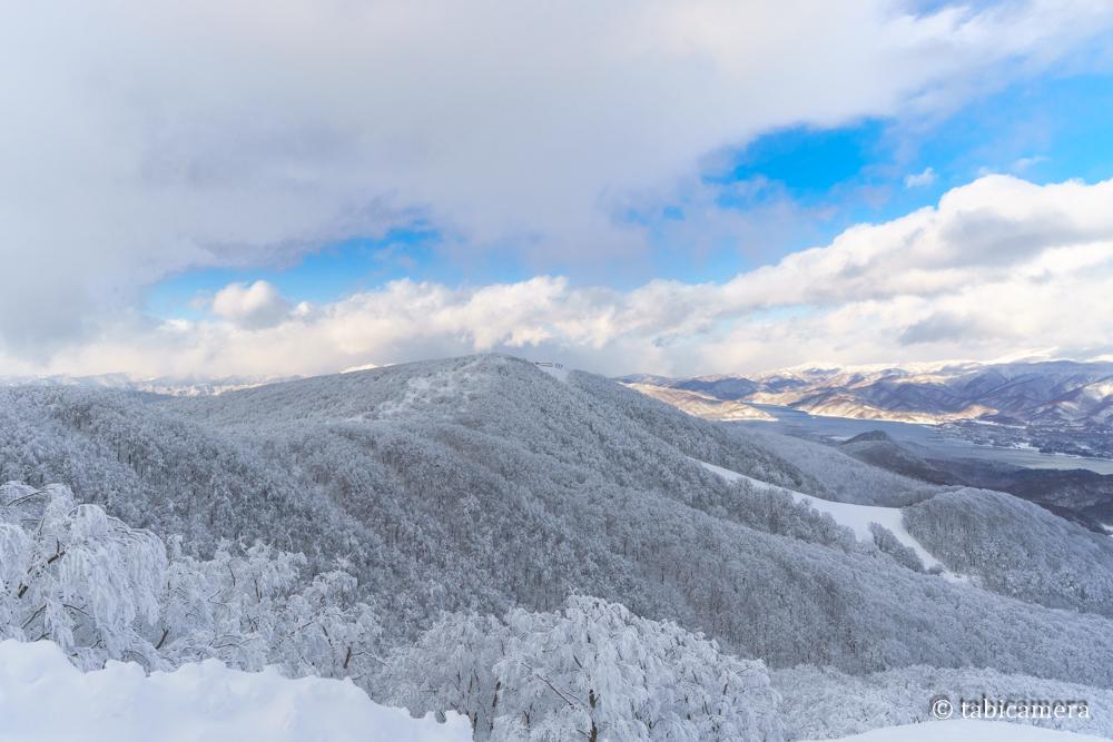 猫魔スキー場の樹氷