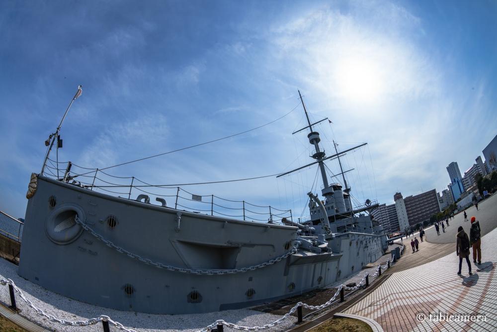横須賀の戦艦三笠