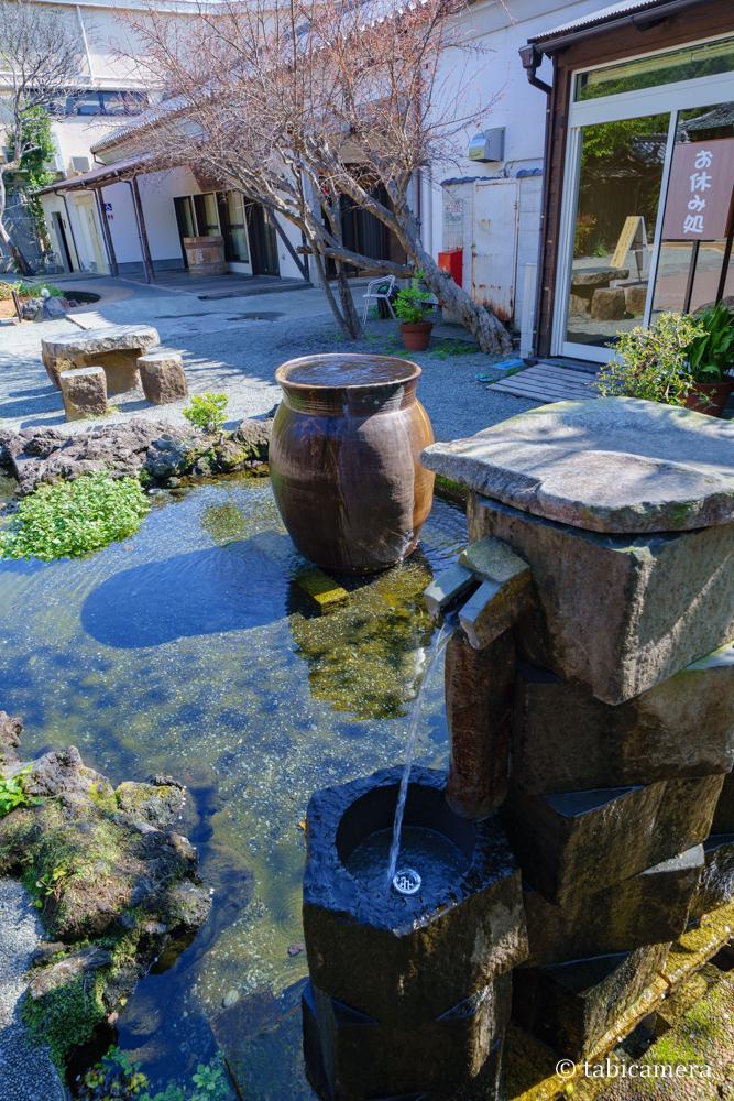 柿田川の富士山伏流水