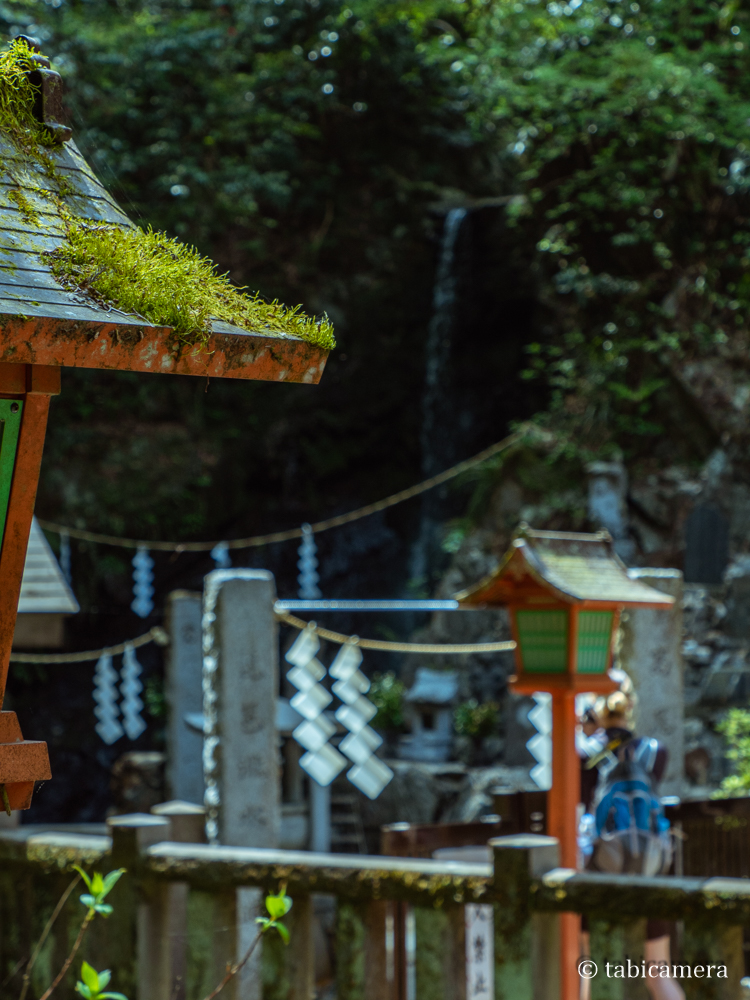 高尾山登山道6号路滝