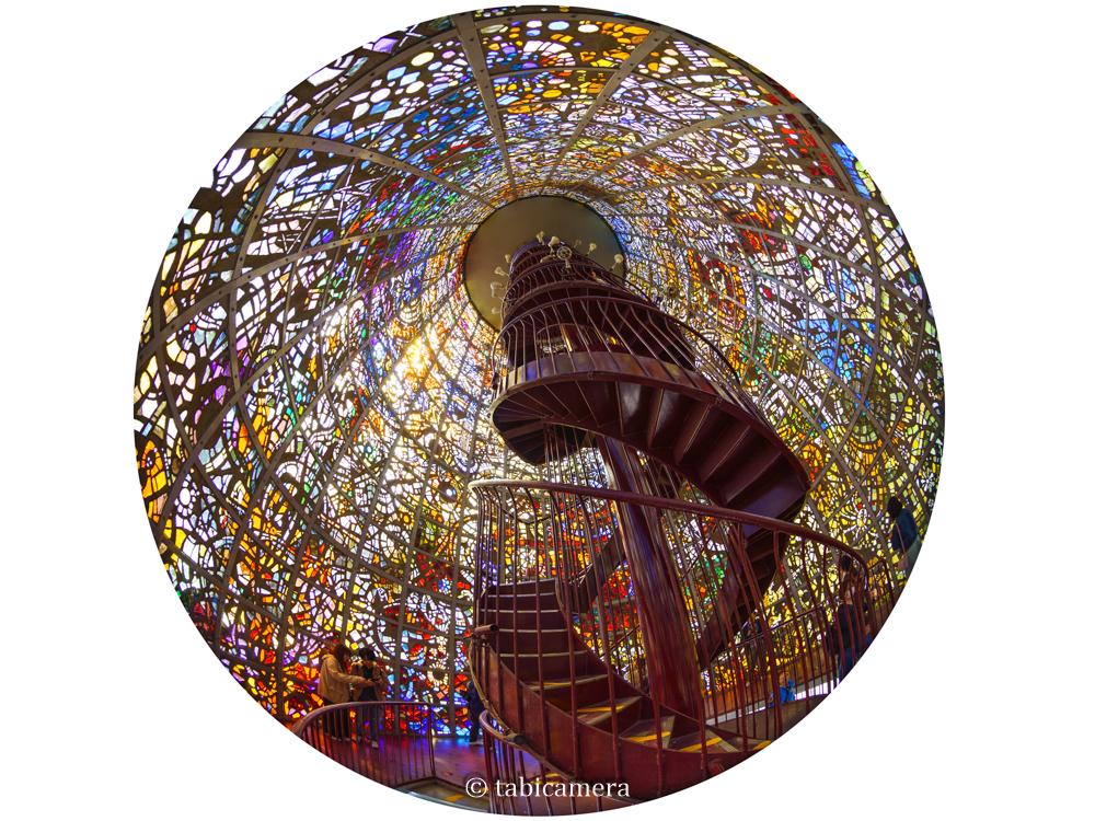 箱根 彫刻の森美術館 ステンドグラス 幸せをよぶシンフォニー彫刻