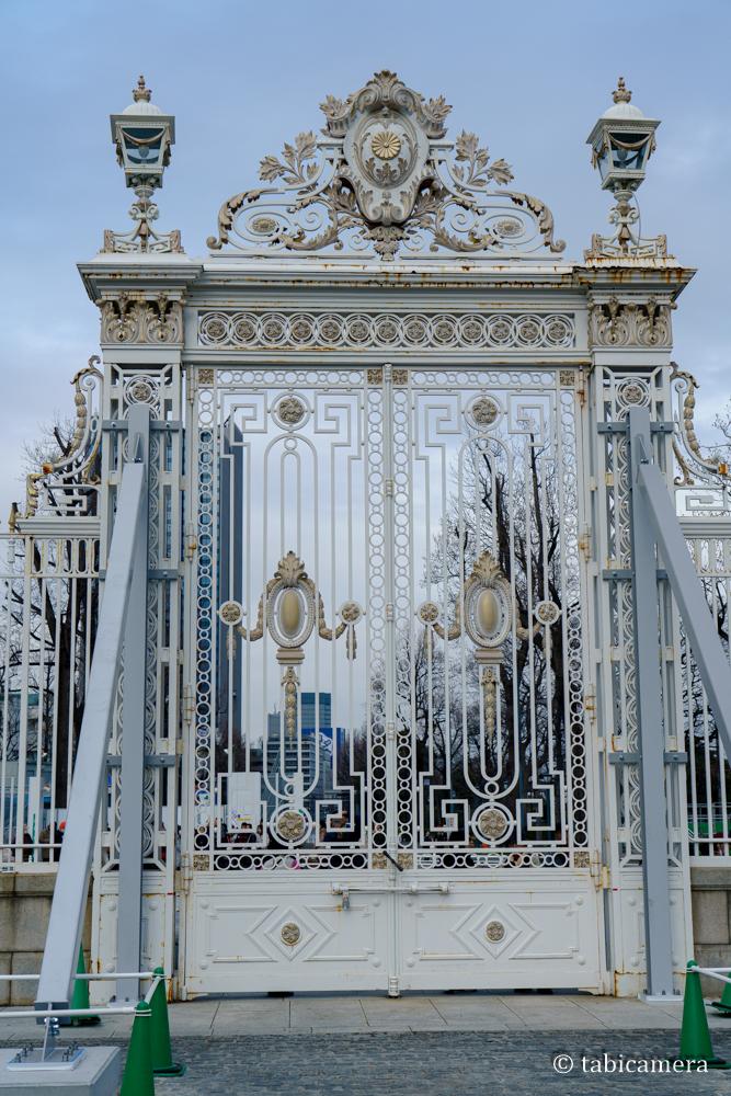 赤坂迎賓館の門