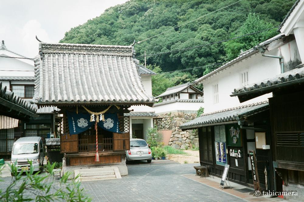 安芸の小京都の広島竹原街並み保存地区