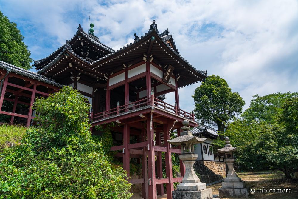 安芸の小京都の広島竹原普明閣