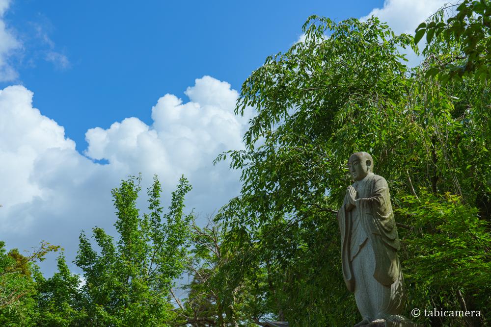 松戸本土寺の石像
