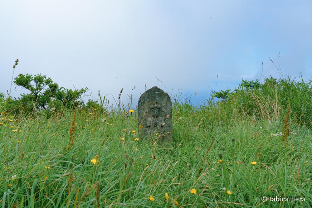 有珠山外輪山にあった石像