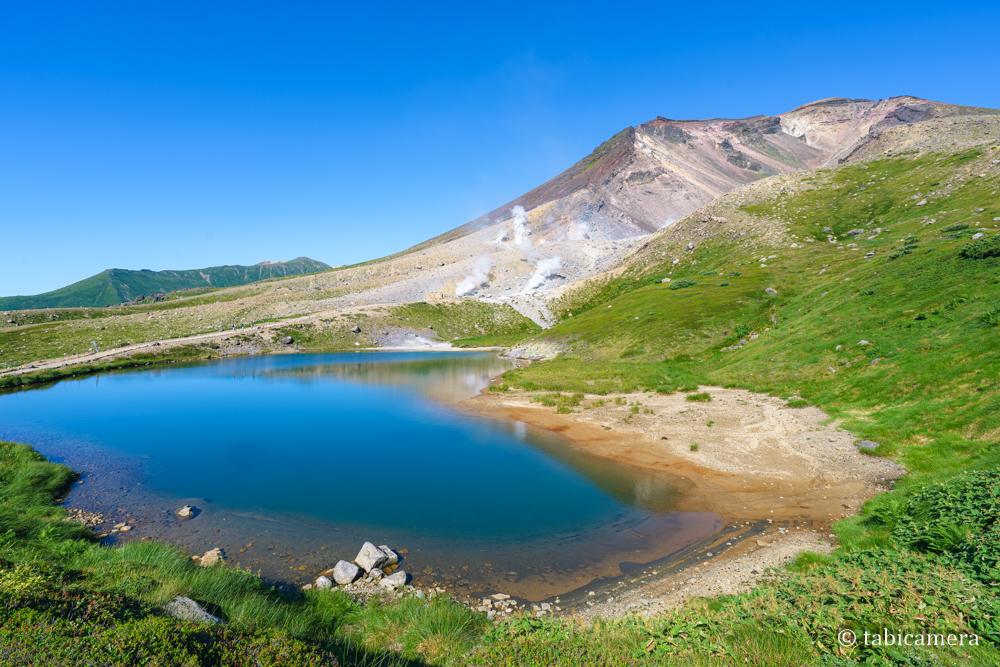 旭岳姿見の池