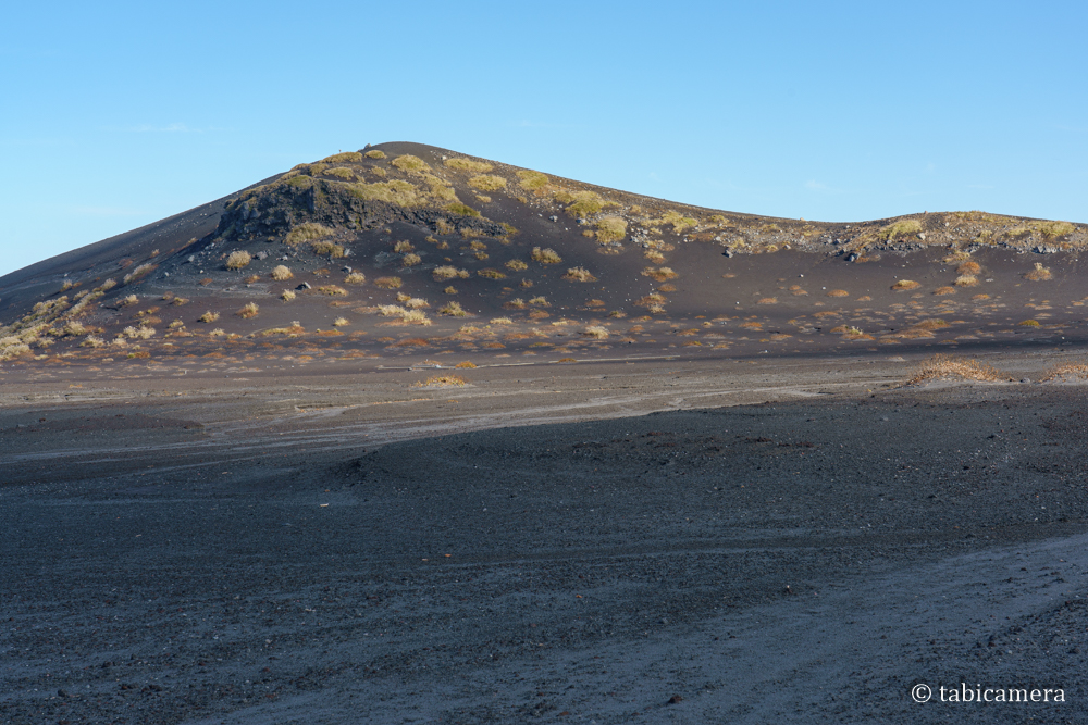 裏砂漠からの櫛形山