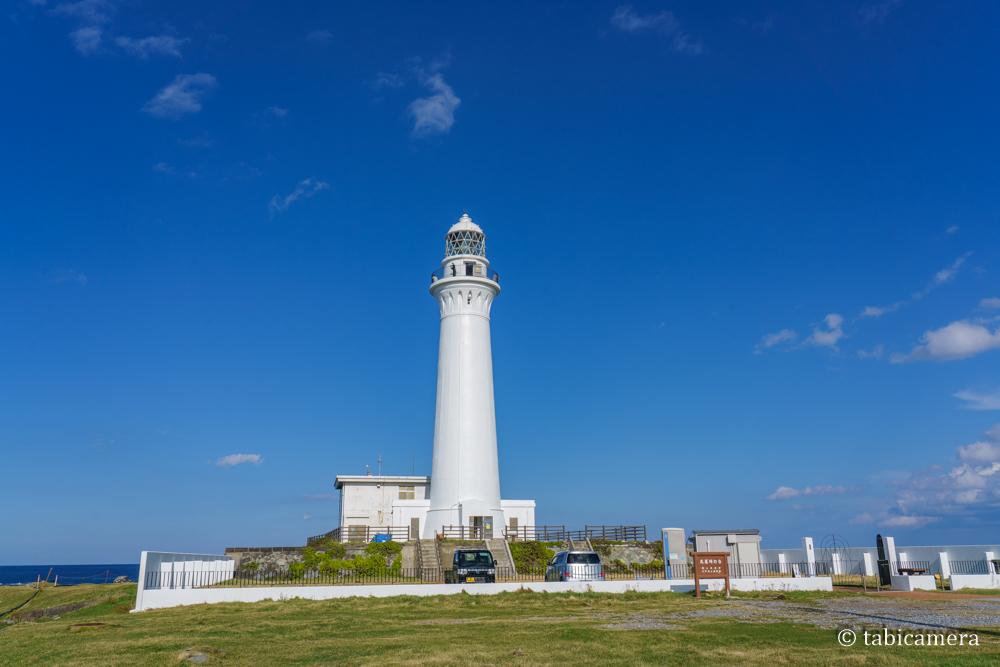 青森・下北半島尻屋崎の灯台
