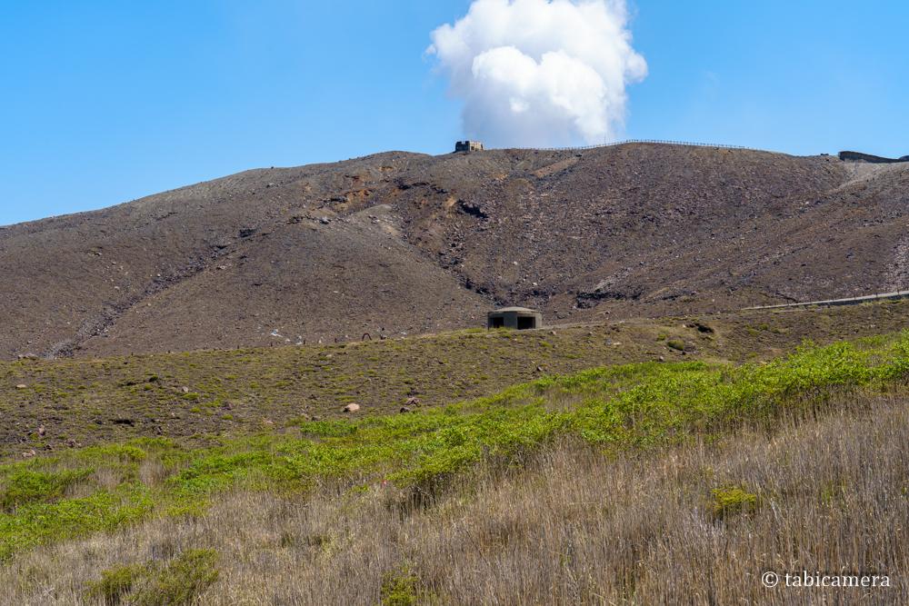 阿蘇山 火山 水蒸気